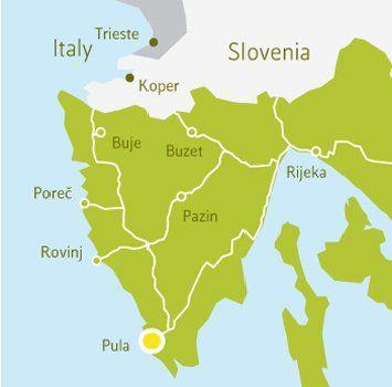 Come arrivare a Pola? - Turistička zajednica grada Pule