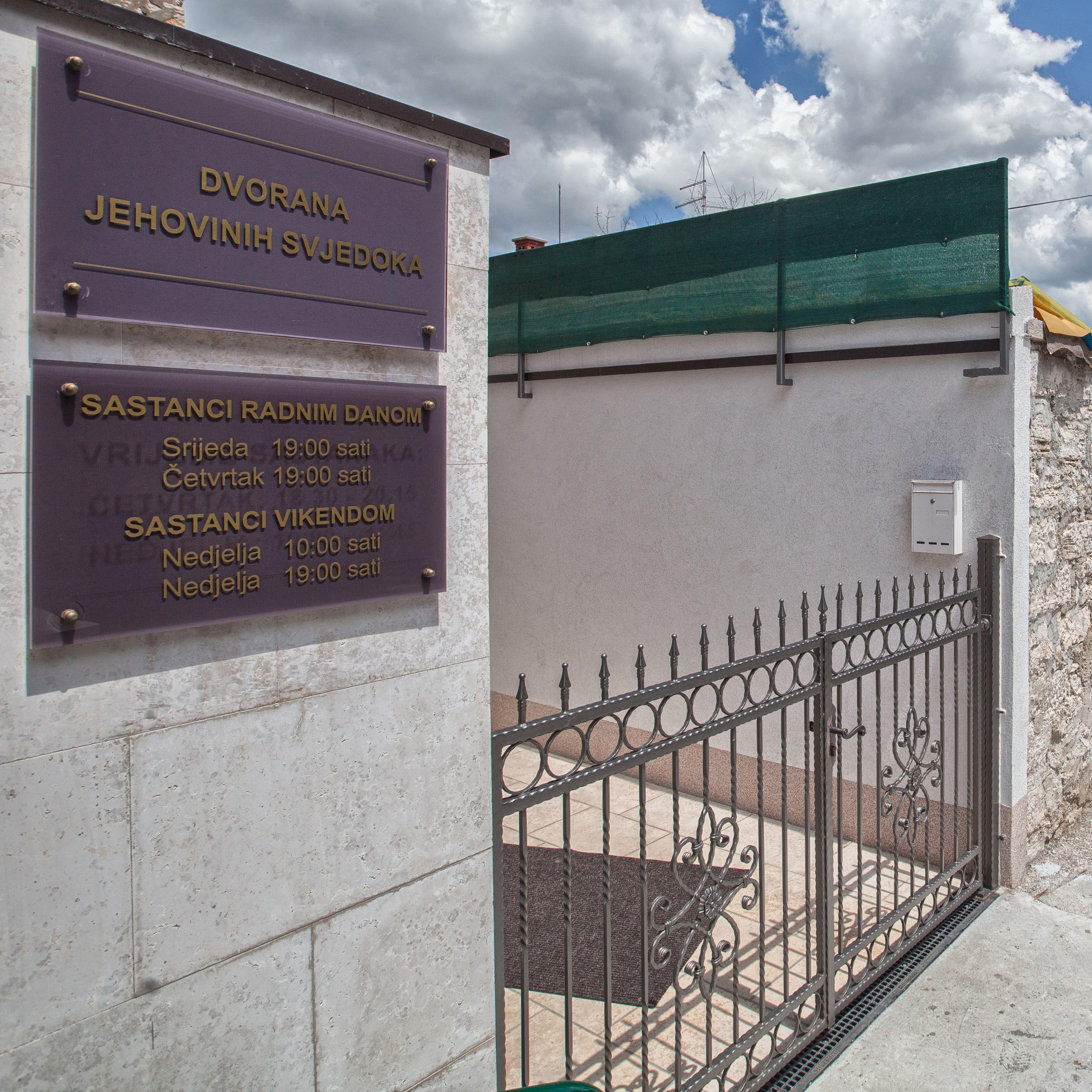 mjesta za dolazak svjedoka Jehove